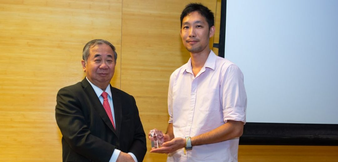2020 | Dr Lim Zhi Han from SPS wins Faculty Teaching Excellence Award!