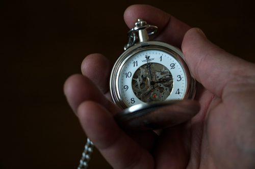 Timepiece by Pierre Bamin via Unsplash